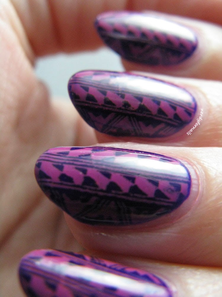 Orly Saturated with Mundo de Unas Stamping Bundle Monster Plate BM-221