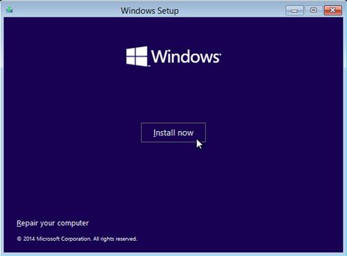 Cara membuat partisi windows saat proeses installasi