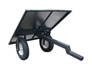 Platforma sadownicza ogrodnicza do traktorka ogrodniczego kosiarki quada