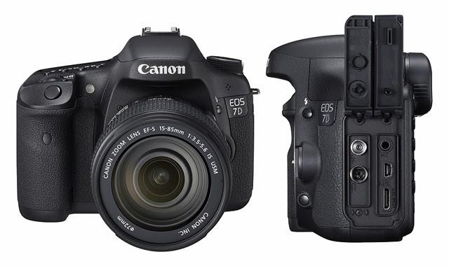 Fotografia della Canon EOS 7D