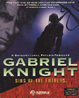 Gabriel Knight : Sins of the Fathers Gabriel+Knight+-+Sins+of+the+Fathers