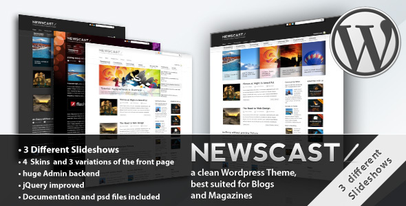Image for Newscast 4 in 1 – Magazine Theme by ThemeForest