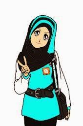 gambar muslimah cantik berkacamata