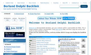 borland delphi backlink