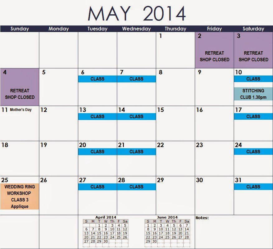 May Calendar Of Events : Jemima s creative quilting calendar of events