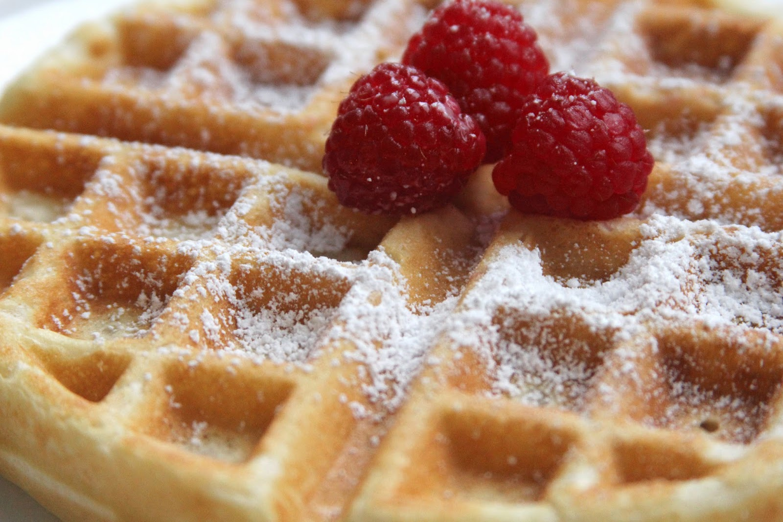 Classic Waffles from Scratch