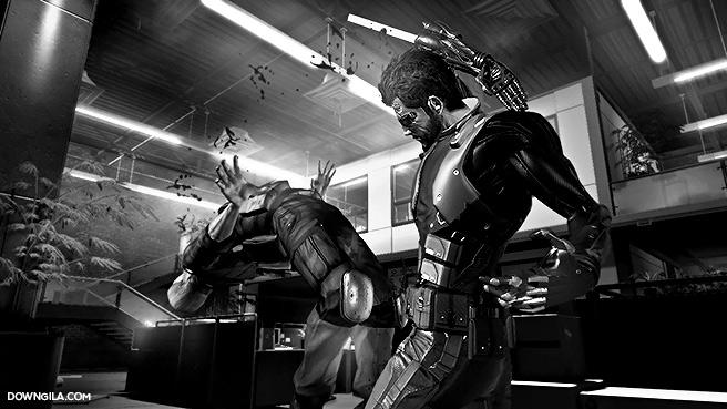 Adam Jensen Deus Ex Human Revolution