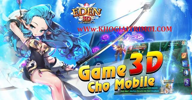 Sự kiện Tiêu Phí Nhận Quà Hot trong game Eden 3D