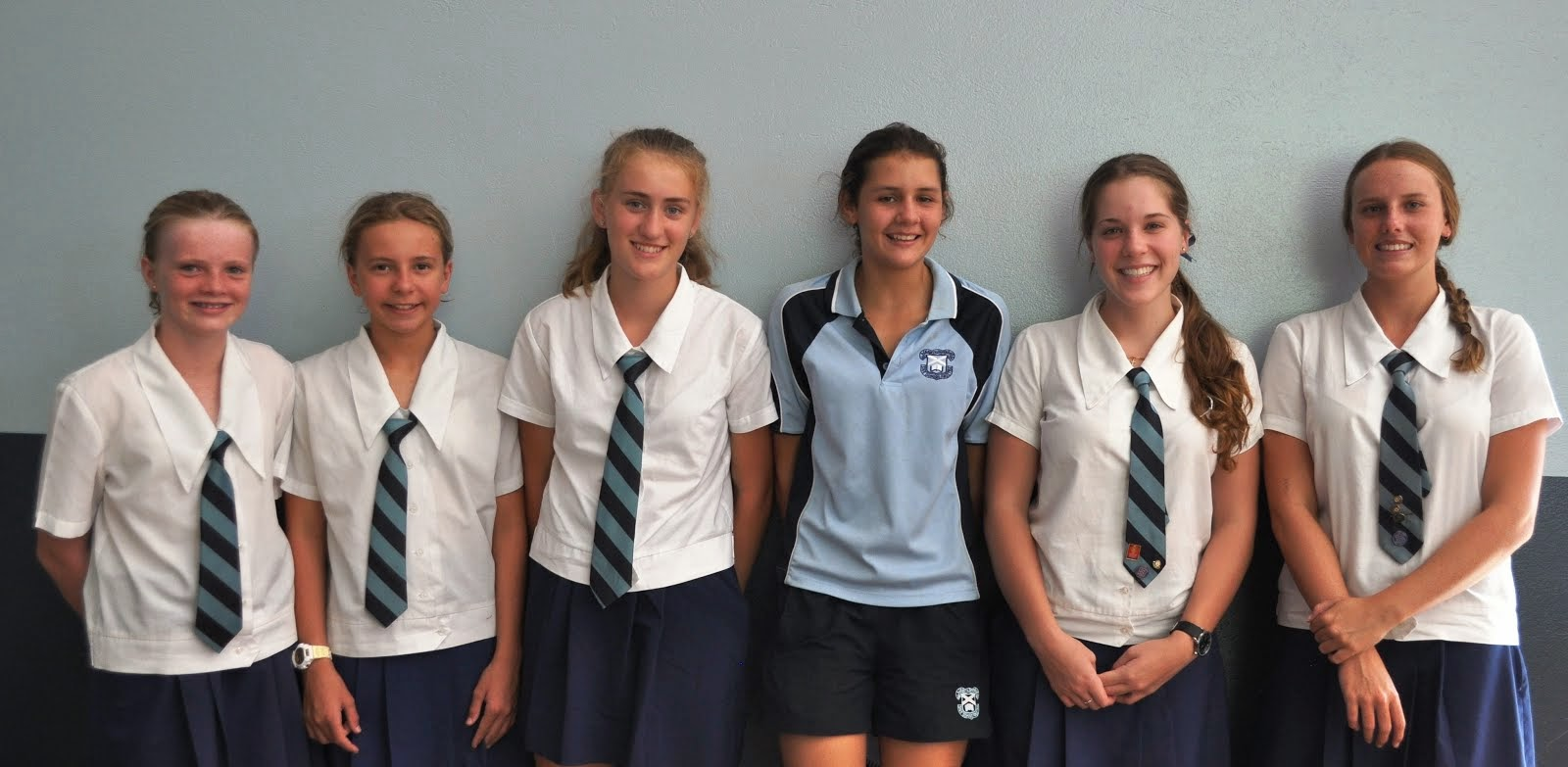Interhouse Swimming Girls Age Champions