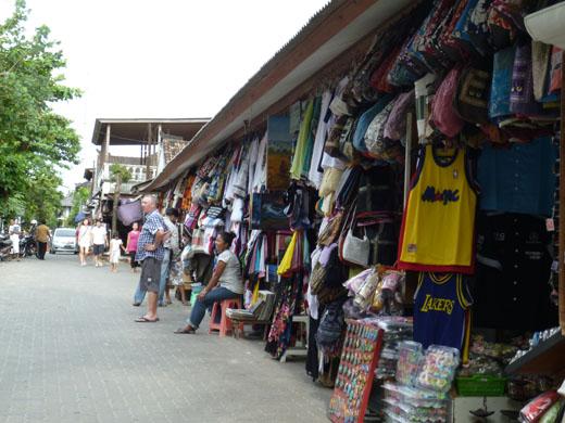 Tiendas en Bali