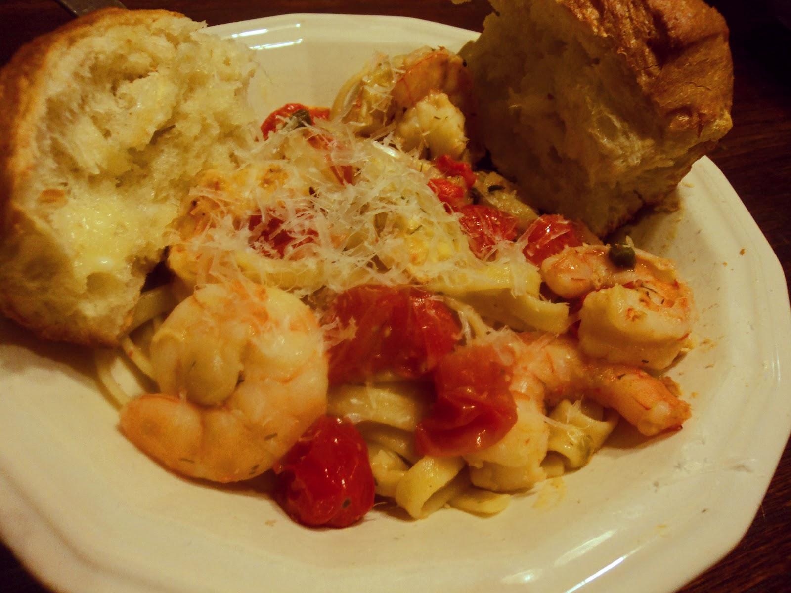 Shrimp And Artichoke Fettuccine Recipes — Dishmaps