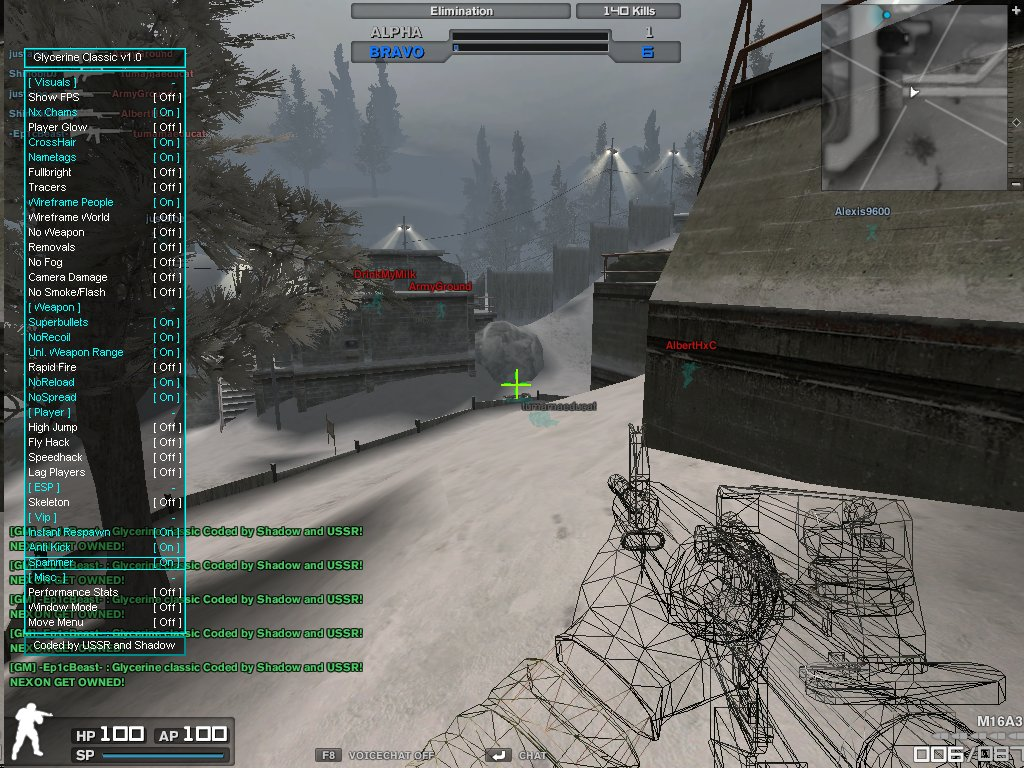 engine2012063020582779 Combat Arms Hile Glycerine Classic v1.0 Antikick instant Respawn Spammer indir   Download