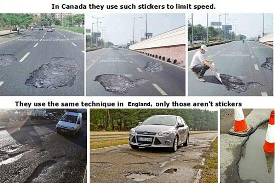Speed Limit Sign - Canada vs. England