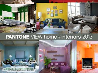 Warna desain interior populer tahun 2013