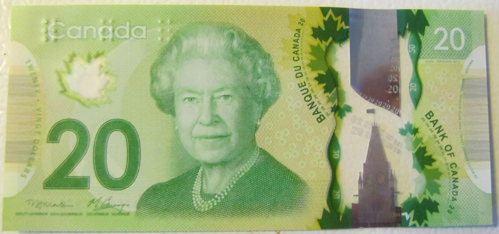 World United News New Canadian Dollar Bill Is A