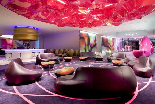 Bar im NHow Hotel Berlin