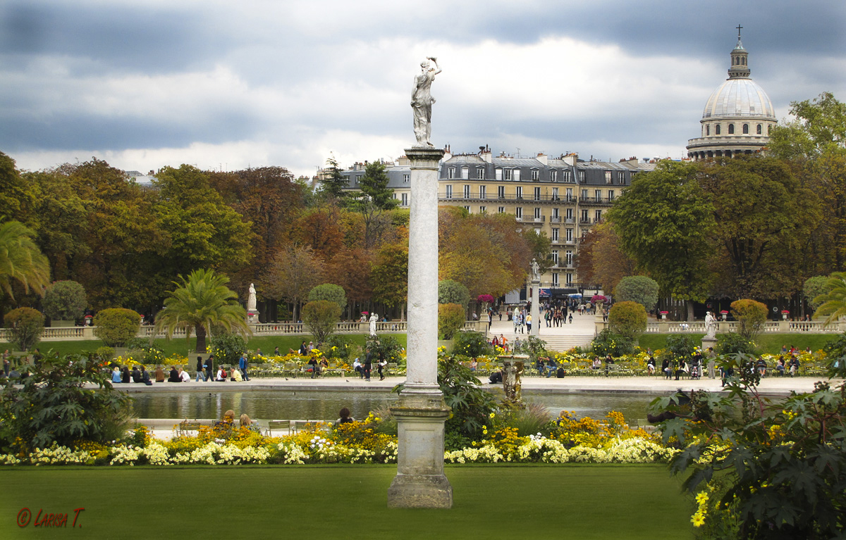 Gradina luxembourg paris blogul larisei for Jardin luxembourg