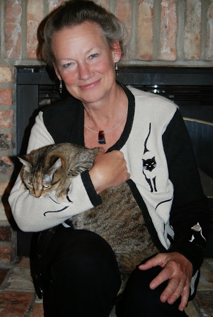 cat sweater Deb Zeller