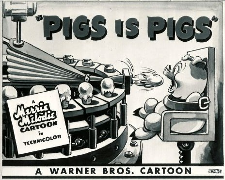 Pigs is Pigs, 1937, Force Feeding Machine