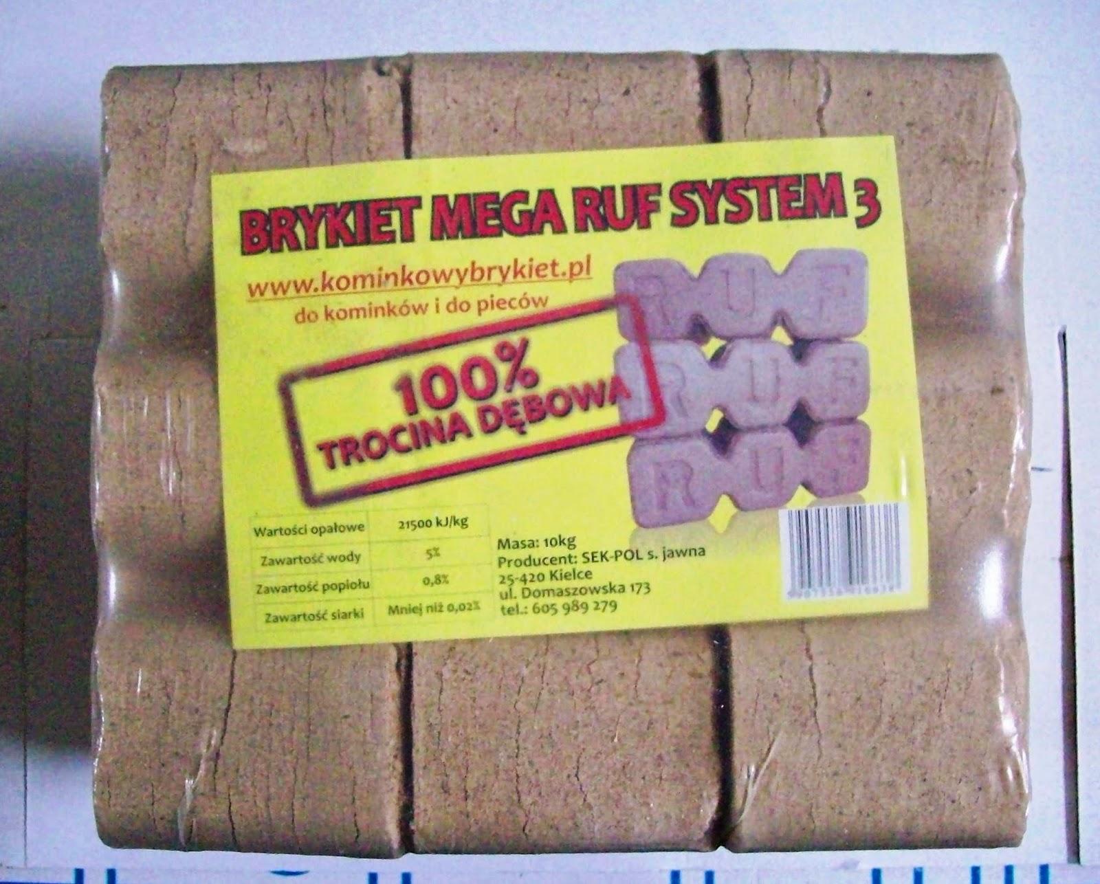 Brykiet MEGA Ruf System3