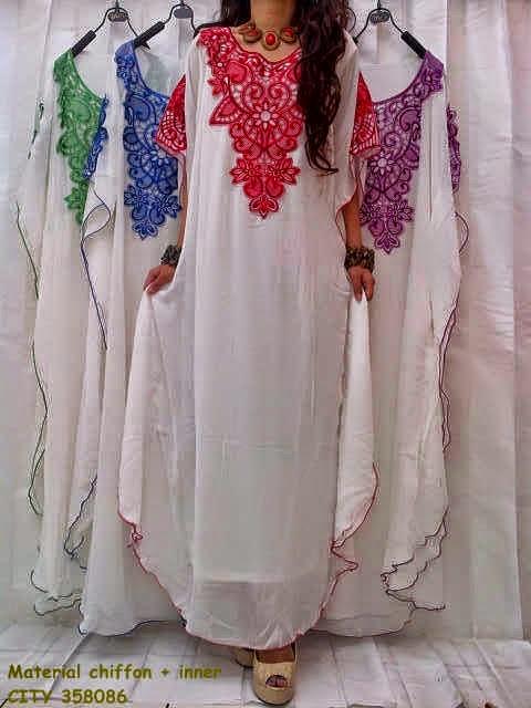 Konveksi jilbab cantik online murah yessy collection Baju gamis putih murah