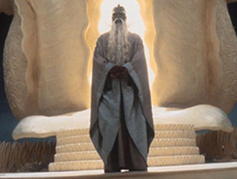 Caíron (Moses Gunn) en La historia interminable - Cine de Escritor