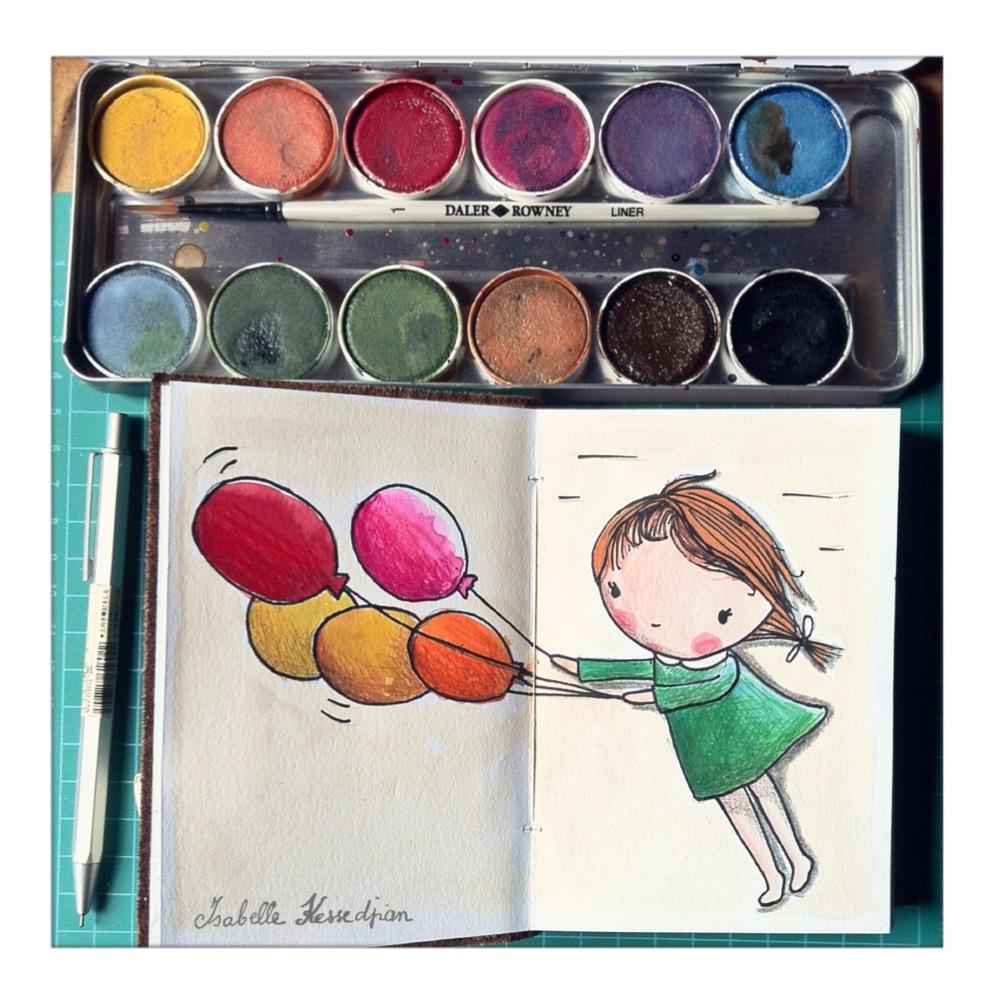 Isabelle kessedjian dessins de vacances - Dessin de vacances ...