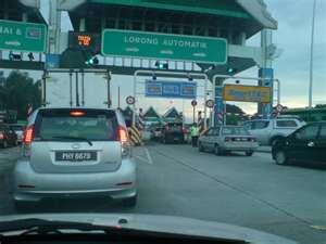 waktu operasi baru Jambatan Pulau Pinang