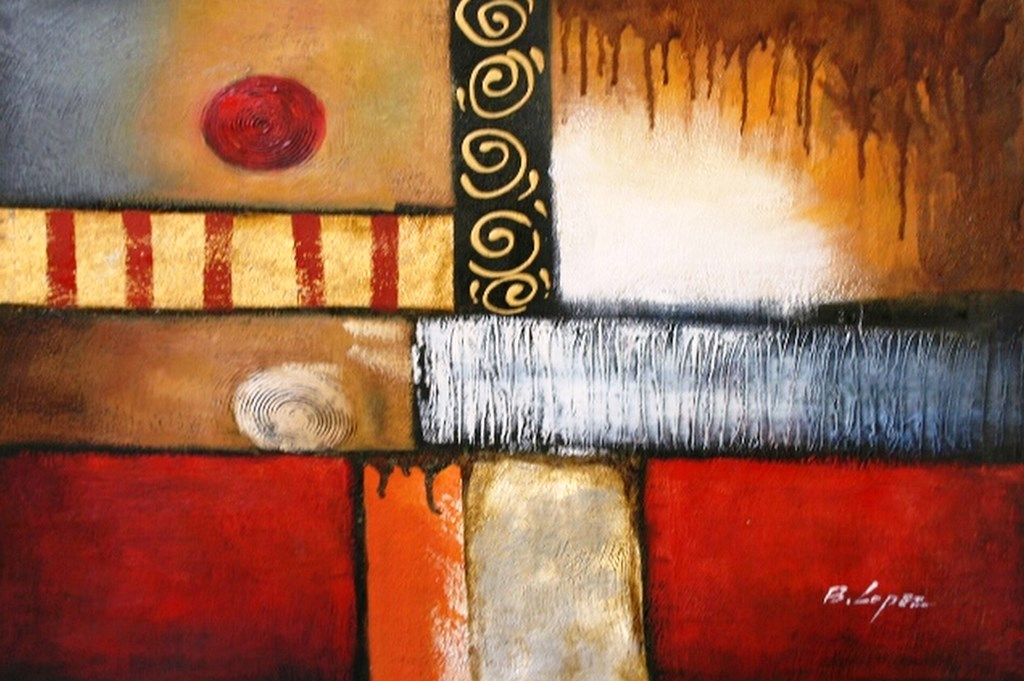 Pintura moderna y fotograf a art stica 3 cuadros - Cuadros pintura acrilica moderna ...