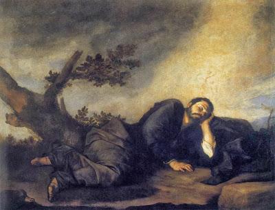 חלום יעקב - חוסה דה ריברה - 1639 - פרדו מדריד