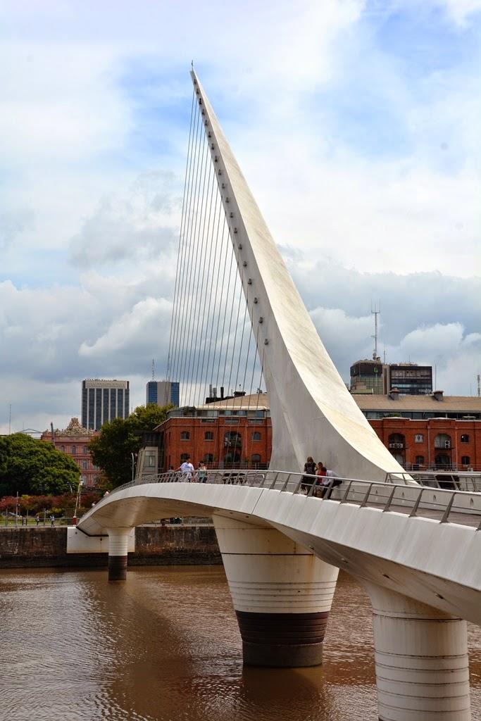 Puerto Madero Buenos Aires bridge