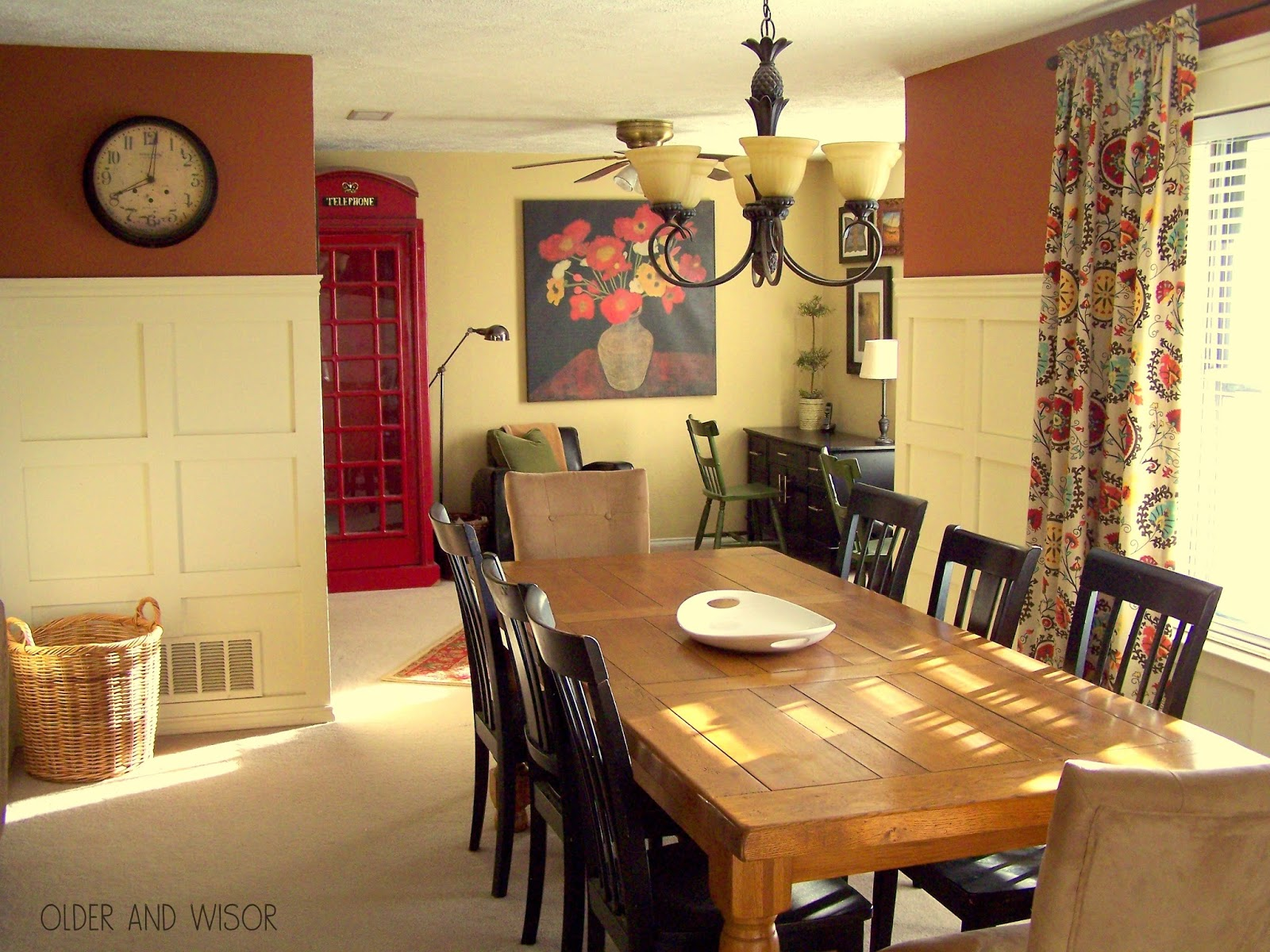 Older and wisor operation black ops why dark walls make for Dining room operations
