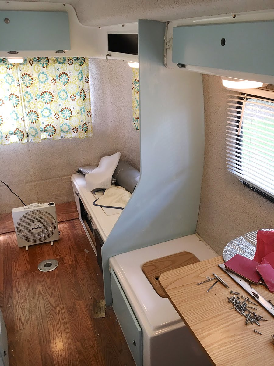 Casita Travel Trailer Interior Remodel | Cool Stuff for the Cool Camper