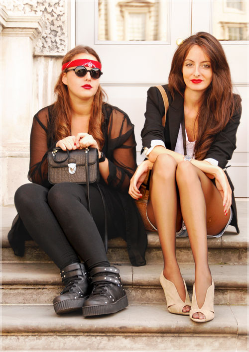 Psynopsis Street Style London Friends LFW Somerset House