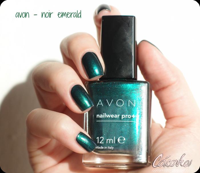 Avon - Noir Emerald