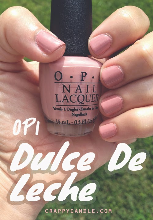 My New Favorite Nude Polish: OPI Dulce De Leche | Crappy Candle