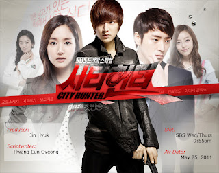 city hunter, lee min hoo