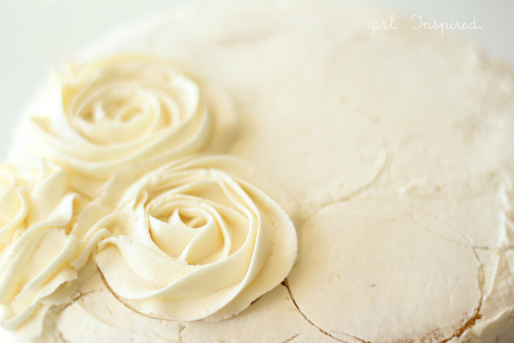 Cake Decorating How To Make Roses : Tips for Making a Swirled Rose Cake - girl. Inspired.