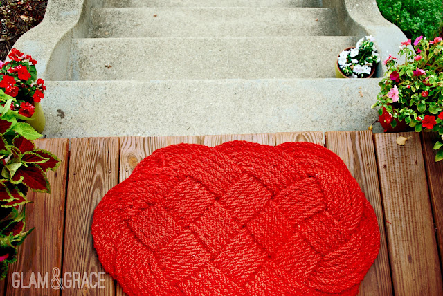 DIY RUG SPRAY PAINT