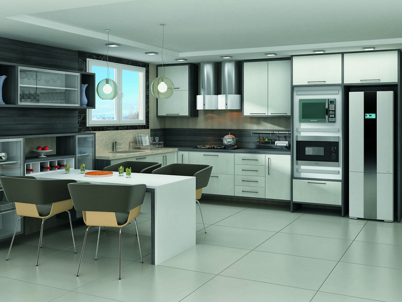 cozinhas pequenas em l pequenas e projetos decora o Car Pictures #887343 1600 1200