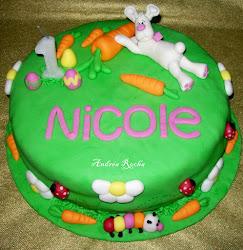 Bolo Aniversário Nicole