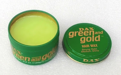Dax Green and Gold Hair Wax Review