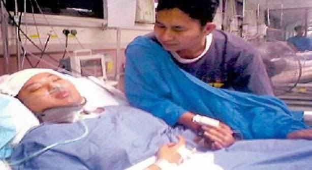 Kisah suami mulai rindu bebelan isteri tika isteri terlantar di hospital