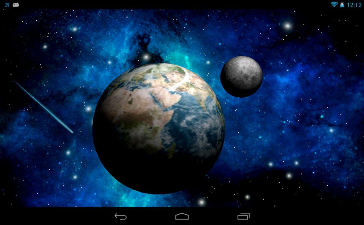 3D Space Beautiful Planet Hd Wallpaper