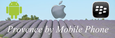 Provence by mobile phone, applications to help your travel experience