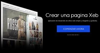 Crea sitios webs gratis en IM free