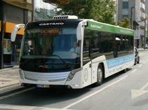 autocarro elétrico da Caetanobus