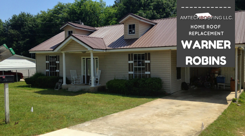 Roof Replacement Services In Warner Robins