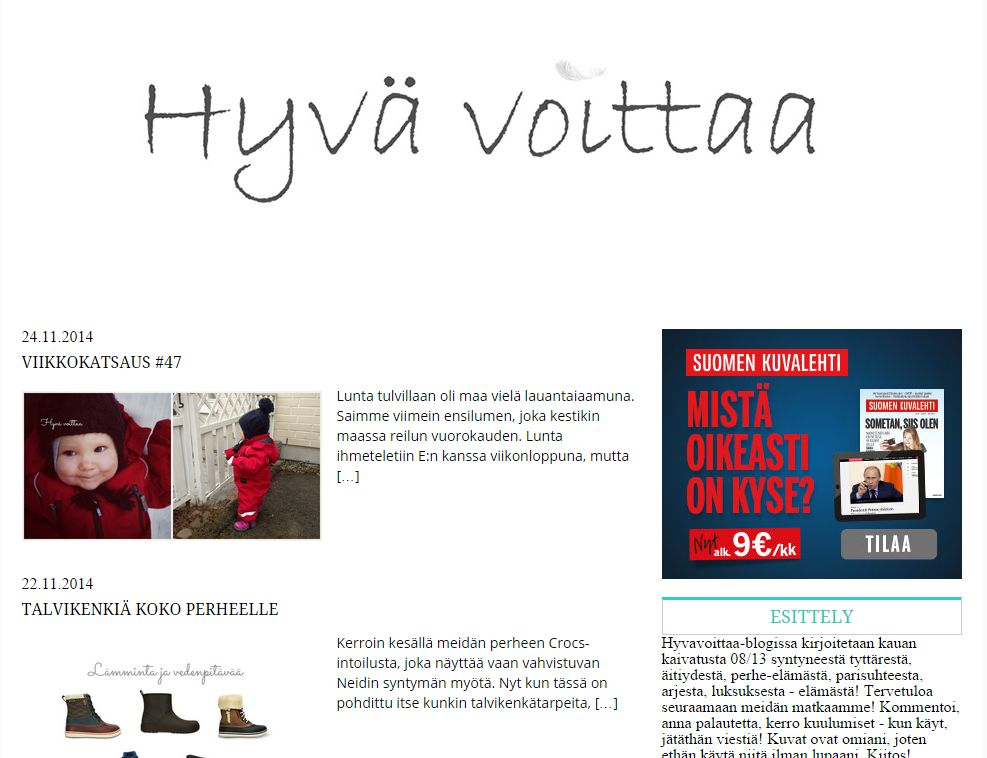 http://blogit.kaksplus.fi/blogi/hyvavoittaa/