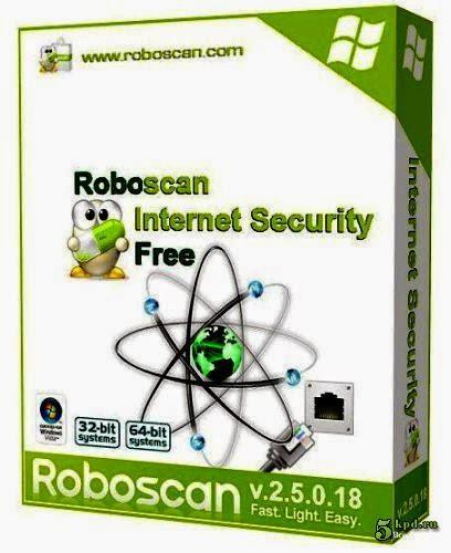 برنامج robascan internet security 2014 لحماية الاجهزة من الفيروسات اخر اصدار